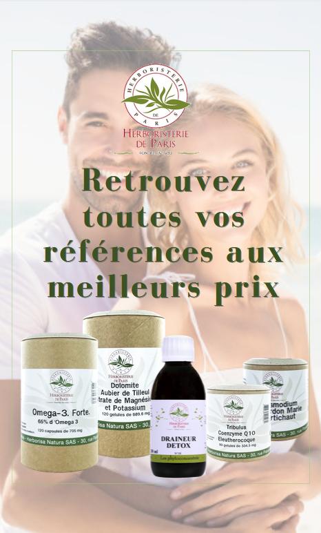 Voir les produits Herboristerie de Paris