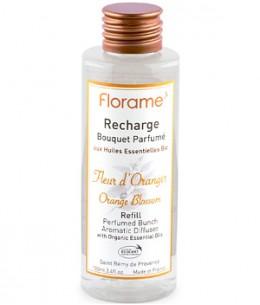 Florame - Recharge Bouquet parfumé Fleur d'Oranger - 100 ml
