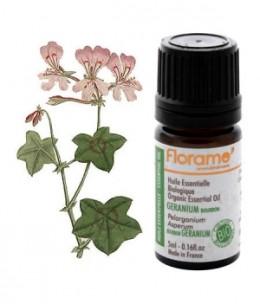 Florame - Huile essentielle bio Géranium Bourbon - 5 ml