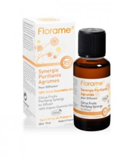 Florame - Synergie purifiante pour diffusion Agrumes - 30 ml