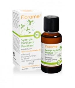 Florame - Synergie purifiante pour diffusion Fraîcheur - 30 ml
