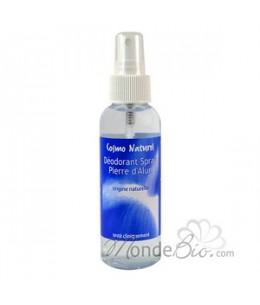 Cosmo Naturel - Déodorant spray corporel Alun de Potassium - 125 ml