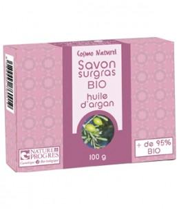 Cosmo Naturel - Savon surgras à l'huile d'argan - 100 gr