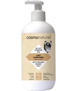 Cosmo Naturel - Lait corporel au lait d'ânesse et HE - 500 ml