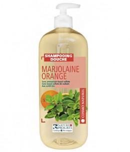 Cosmo Naturel - Shampoing douche Marjolaine Orange - 1 litre