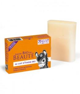 Cosmo Naturel - Savon au lait d'ânesse à l'huile essentielle Orange et Lavande - 100 gr