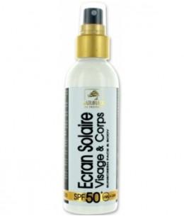 Naturado - Crème solaire visage SPF 50 très haute protection - 100 ml