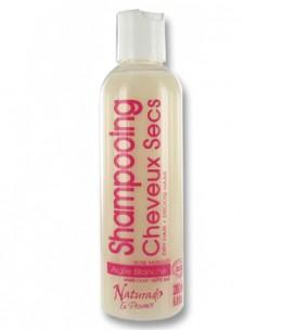 Naturado - Shampoing cheveux secs Kaolin Rose musquée Lavande - 200 ml