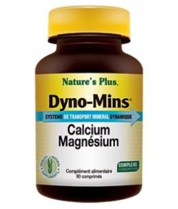 Nature's Plus - Dyno Mins Calcium Magnésium - 90 comprimés