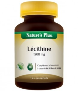 Nature's Plus - Lécithine de Soja 1200 mg - 90 capsules