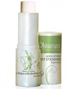 Oleanat - Baume à lèvres au lait d'ânesse régénérant - 5 gr
