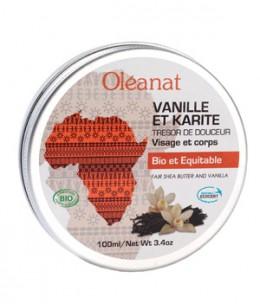 Oleanat - Baume Vanille et Karité bio équitable Trésor de Douceur - 100 ml
