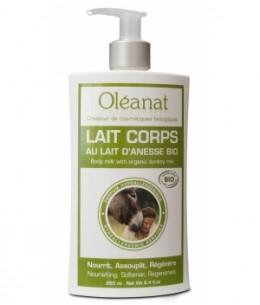 Oleanat - Lait corporel au lait d'ânesse - 250 ml