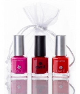Avril - Coffret ongles Tapis Rouge
