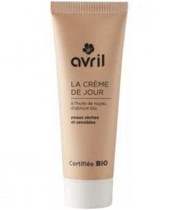 Avril - Crème de jour peau sèche et sensible Huile de Noyau d'Abricot - 50 ml