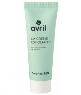 Avril - Crème exfoliante visage aux micro perles de Jojoba - 50 ml
