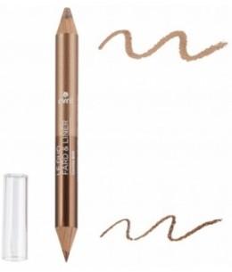 Avril - Duo liner Bronze cuivré/Beige doré - 2 gr