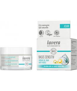 Lavera - Crème de Jour anti rides à la Coenzyme Q10 Basis Sensitiv - 50 ml