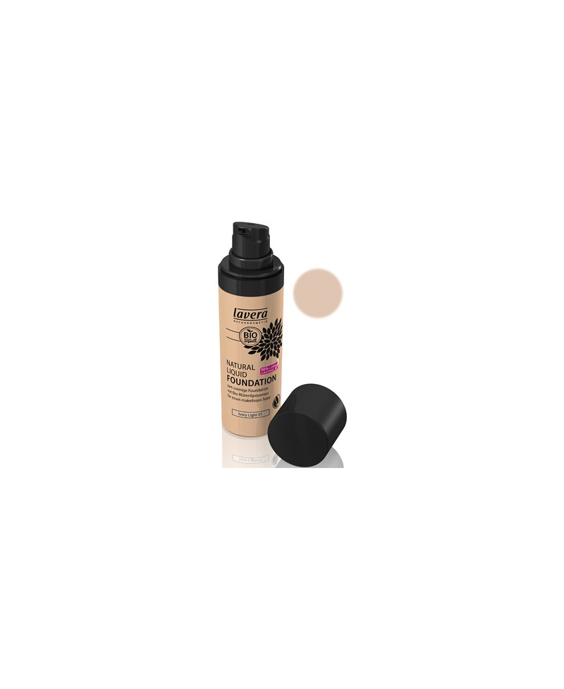 fond de teint naturel liquide bio 30 ml lavera. Black Bedroom Furniture Sets. Home Design Ideas