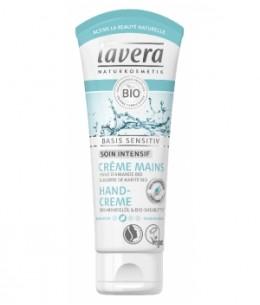 Lavera - Crème mains Basis Sensitiv Format voyage - 20 ml