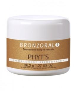 Phyts - Bronzoral 1 Bonne mine, sublimateur solaire - 80 gélules
