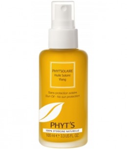 Phyts - Huile solaire Ylang sans filtre - 100 ml