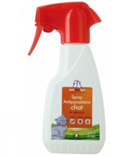 Anibiolys - Spray Antiparasitaire - 250 ml - Chats