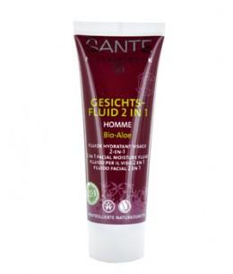 Sante - Fluide visage hydratant 2 en 1 Homme I - 50 ml