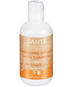 Sante - Shampoing brillance Orange et Coco - 200 ml