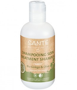 Sante - Shampoing soin Ginkgo et olive - 200 ml