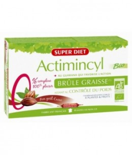 Super Diet - Actimincyl au Guarana action Brûle Graisse - 20 ampoules