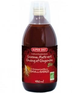 Super Diet - Boisson tonifiante au Ginseng bio - 500 ml