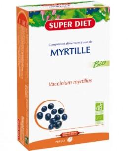 Super Diet - Jus de Myrtille - 20 ampoules