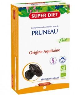 Super Diet - Jus de Pruneau Bio - 20 Ampoules de 15 ml