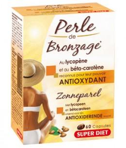 Super Diet - Perle de bronzage au lycopène et au béta carotène - 60 capsules