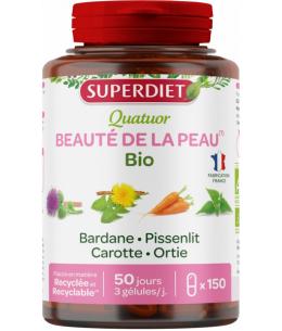 Super Diet - Quatuor Bardane beauté de la peau Bio - 20 ampoules de 15 ml