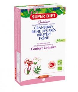 Super Diet - Quatuor Reine des prés Bruyère cranberry Bio - 20 ampoules