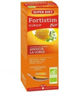 Super Diet - Sirop Fortistim Plantain Adoucissant - 200 ml