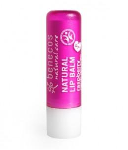 Benecos - Baume à lèvres Framboise - 4,8 gr