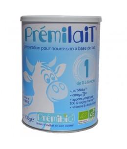 Prémilait - Lait infantile au Bifidus actif 1er âge de 0 à 6 mois - 900 gr