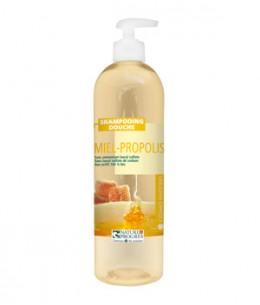 Cosmo Naturel - Shampoing douche Miel Propolis - 500 ml