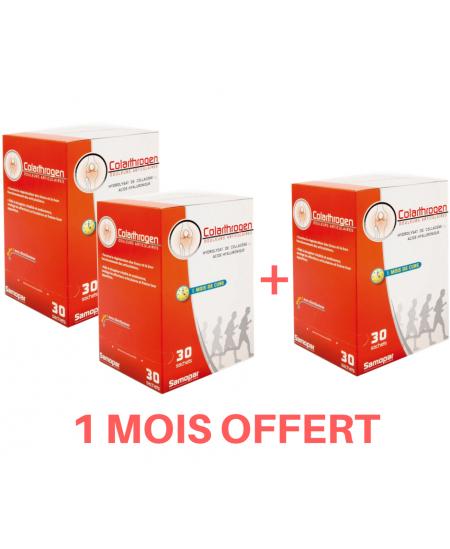 Monapharm - Colarthrogen - Cure de 3 mois (3 boîtes de 30 sachets)