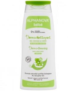 Alphanova - Dermo nettoyant cheveux et corps nénuphar camomille - 200 ml