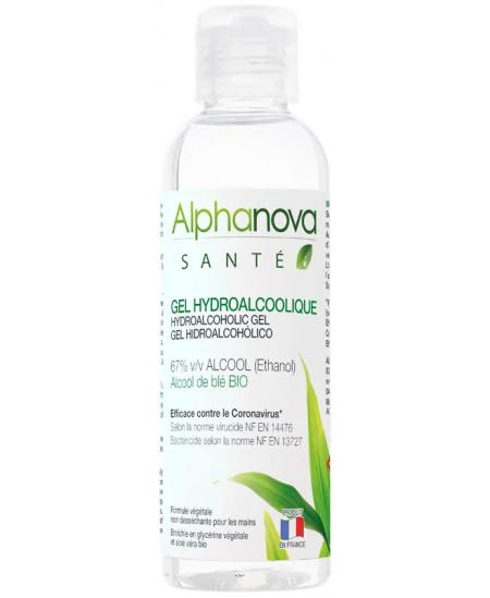 Alphanova - Gel Hydro alcoolique Hygiène des mains - 100 ml