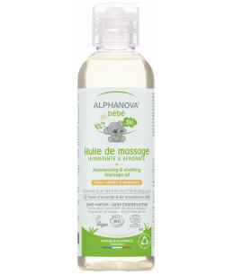 Alphanova - Huile de massage amande douce macadamia - 100 ml