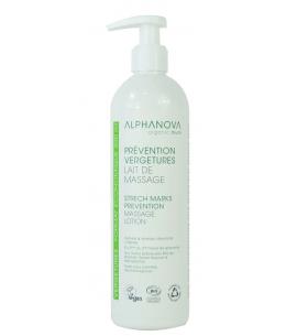 Alphanova - Lait de massage Prévention Vergetures - 400 ml