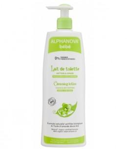 Alphanova - Lait de toilette amande douce, calendula, lys - 500 ml
