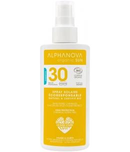 Alphanova - Lait solaire haute protection SPF 30 Parfum Monoï - 125 ml