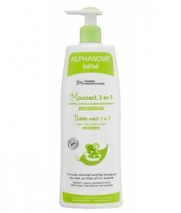 Alphanova - Moussant 3 en 1 Corps Cheveux bain moussant - 500 ml