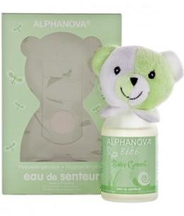 Alphanova - Parfum bébé Baby Green filles et garçons - 100 ml